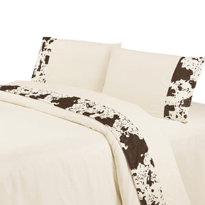 Cowhide Sheet Set