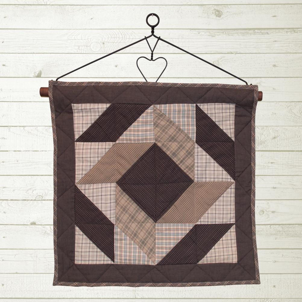 Summer Fieldstone Crazy Square Quilt Block