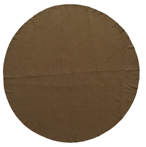 "Tea Cabin Tablecloth 70"" Round"
