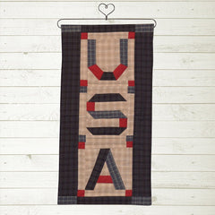 Patriot Star USA Mini Runner / Wall Hanging