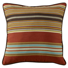 Calhoun Striped Euro Sham - Retro Barn Country Linens