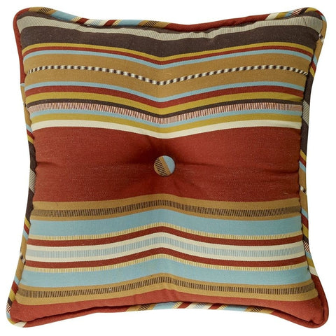 Calhoun Tufted Square Pillow - Retro Barn Country Linens