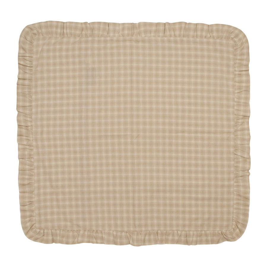 Wheaten Plaid Euro Sham