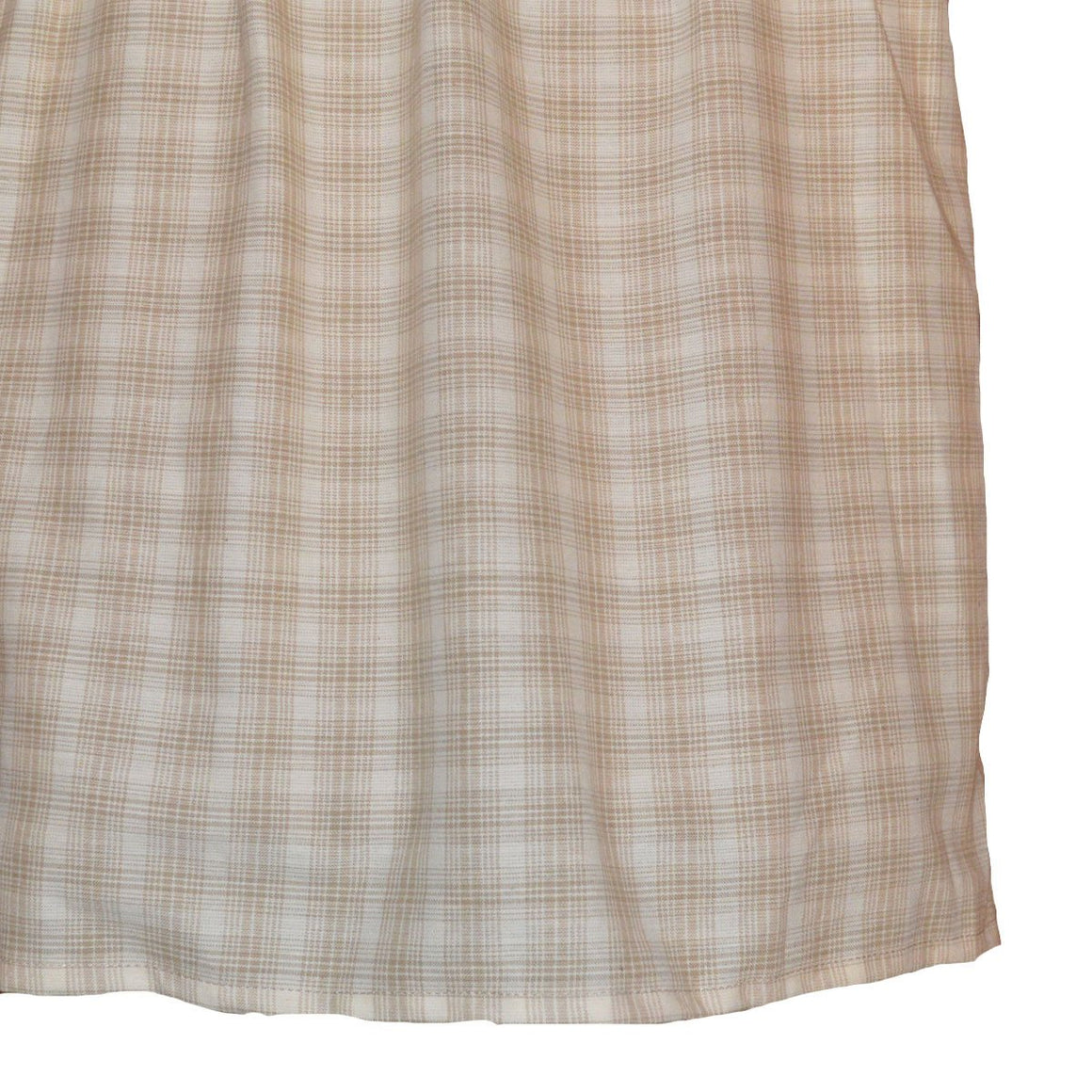 Wheaten Plaid Bedskirt