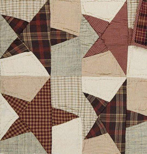 Abilene Star Quilted Throw / Wallhanging