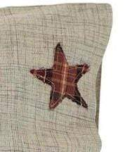 Abilene Star Pillow Case Set - Retro Barn Country Linens - 2