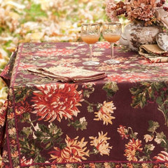 Antoinette Floral Napkin Set - Retro Barn Country Linens