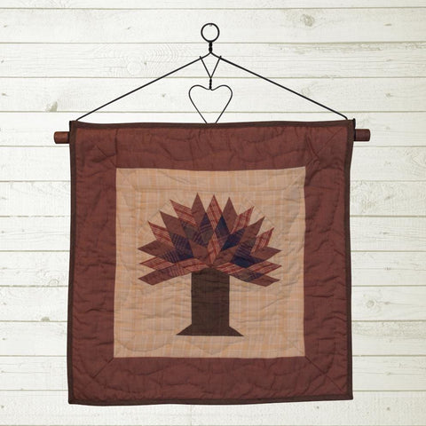 Autumn Tree Quilt Block