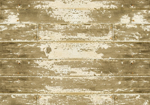 Barnboard Faux Wood Rug - Retro Barn Country Linens - 1