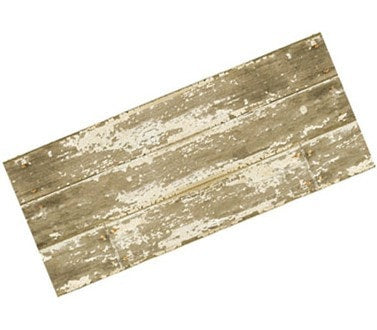 Barnboard Faux Wood Rug - Retro Barn Country Linens - 3