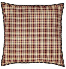 Beckham Fabric Euro Sham - Retro Barn Country Linens - 1
