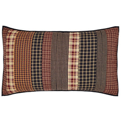 Beckham King Sham - Retro Barn Country Linens - 1