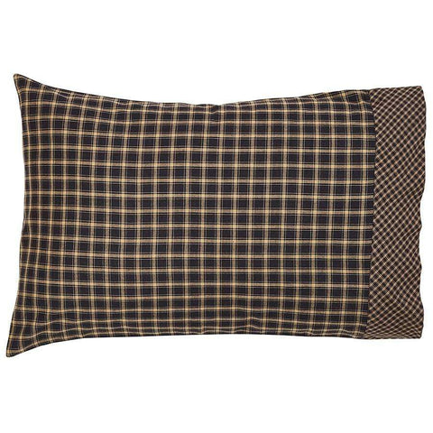 Beckham Pillow Case Set - Retro Barn Country Linens