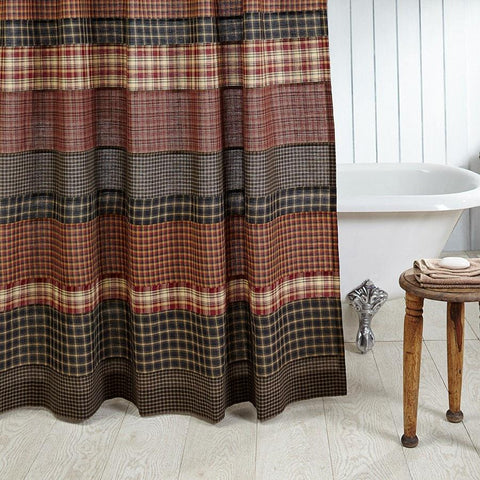 Country Shower Curtains Western Patchwork Lodge