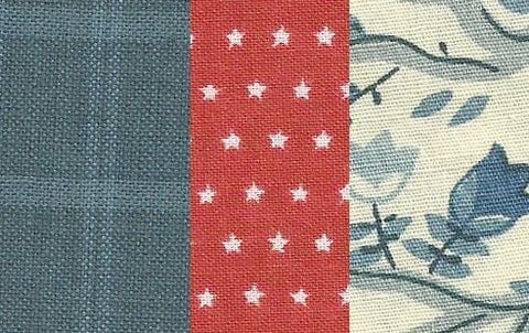 Betsy Americana Quilt Set - Retro Barn Country Linens - 3