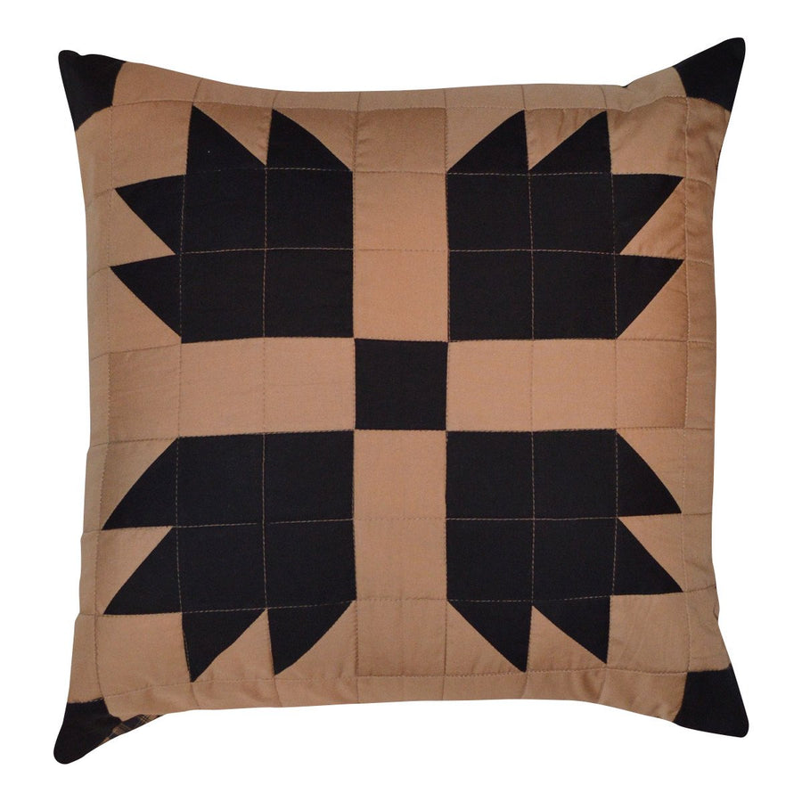 Black Bear's Paw Toss Pillow