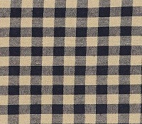 "Black Check 63"" Panel Set - Retro Barn Country Linens - 2"