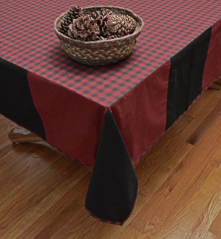 Cabin Check Tablecloth