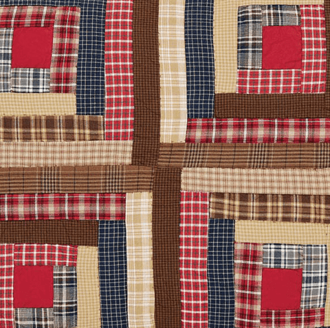 Braxton Quilt - Retro Barn Country Linens - 4