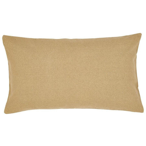 Burlap Natural King Sham - Retro Barn Country Linens - 1