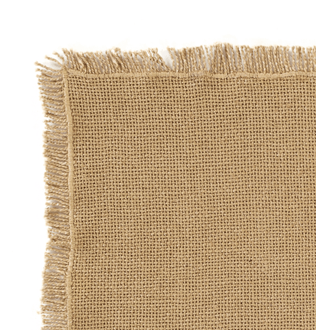 Burlap Natural Runner - Retro Barn Country Linens - 2