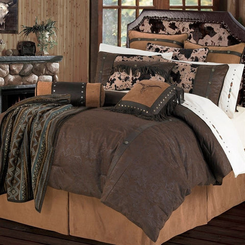 Caldwell Comforter Set - Retro Barn Country Linens - 1