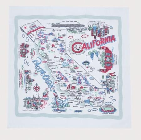 California Napkin Set - Retro Barn Country Linens