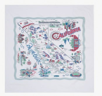 California Tablecloth - Retro Barn Country Linens