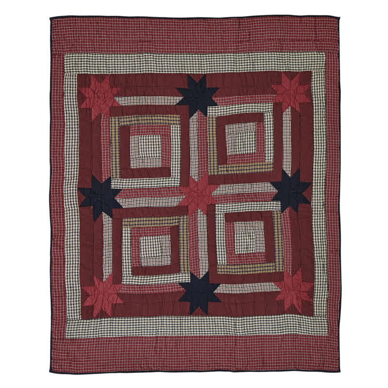 Carson Star Quilted Throw