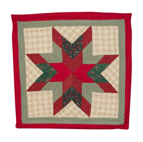 Christmas Lone Star Pillow