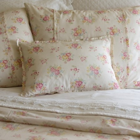 Clovelly  Boudoir Pillow - Retro Barn Country Linens - 1
