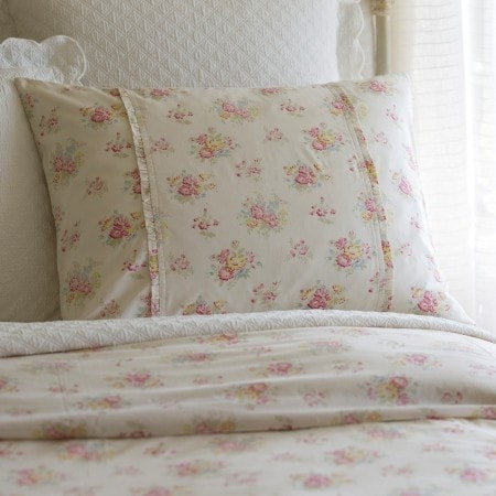 Clovelly Standard Sham - Retro Barn Country Linens - 1