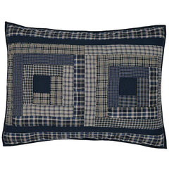 Columbus Standard Sham - Retro Barn Country Linens - 1