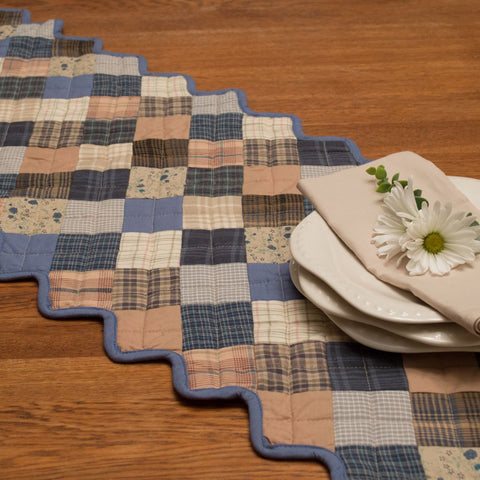 Cornflower Country Table Runner