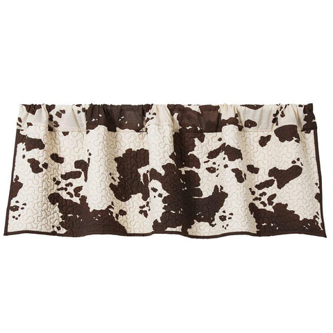 Cowhide Printed Valance at Retro Barn