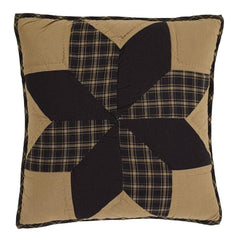 Dakota Star Quilted Pillow - Retro Barn Country Linens - 1