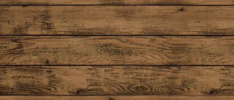 Darkside Timber Faux Wood Rug - Retro Barn Country Linens - 3