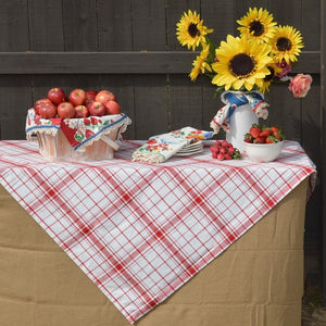 Down Home Plaid Tablecloth