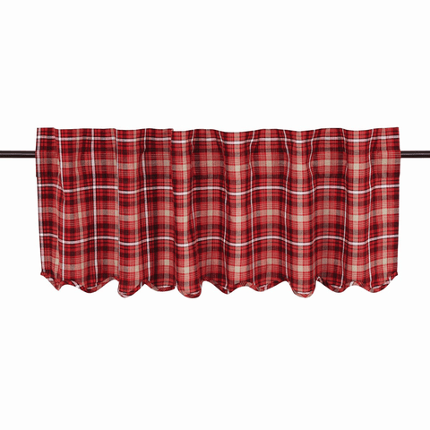 "Braxton Valance 60"" - Retro Barn Country Linens - 1"