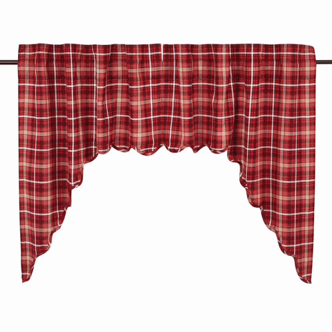 Braxton Swag - Retro Barn Country Linens - 1