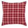 Braxton Fabric Euro Sham - Retro Barn Country Linens - 1