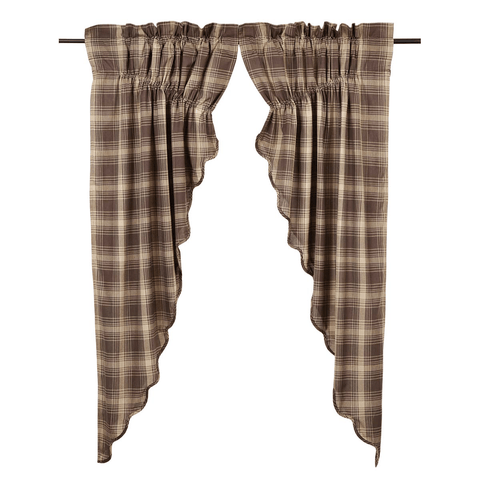 Dawson Star Prairie Curtain - Retro Barn Country Linens - 1