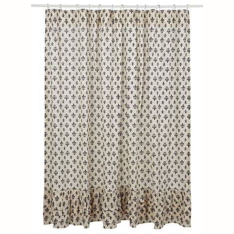 Elysee Shower Curtain - Retro Barn Country Linens - 1