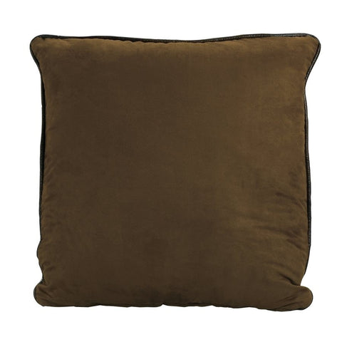 Faux Leather Euro Sham - Retro Barn Country Linens - 2
