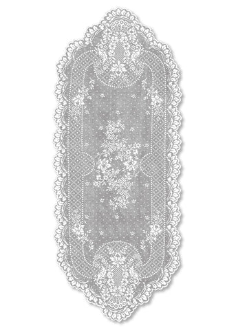 Floret Lace Runner - Retro Barn Country Linens - 2