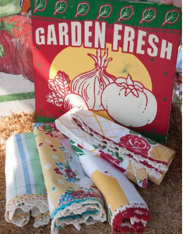 Fresh Fruit Towel Set - Retro Barn Country Linens - 1