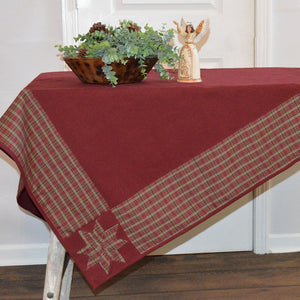Stars in the Corner Holiday Tablecloth