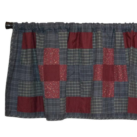 Huckleberry Hill Patchwork Valance