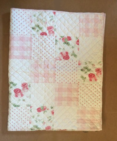 Kate Quilted Throw - Retro Barn Country Linens