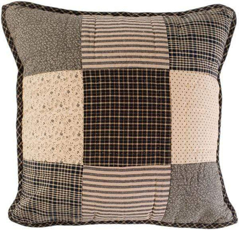 Kettle Grove Quilted Pillow - Retro Barn Country Linens